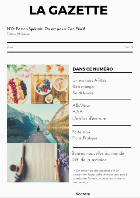 La Gazette n°0